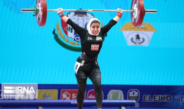 تصاویر: رکوردشکنی نخستین زن وزنهبردار ایرانی در مسابقات جهانی تایلند