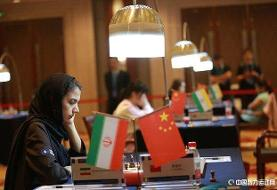 شکست خادم الشریعه در دور سوم مسابقات آزاد شطرنج چین: کاهش ۱۴ واحدی ریتینگ در سه دور