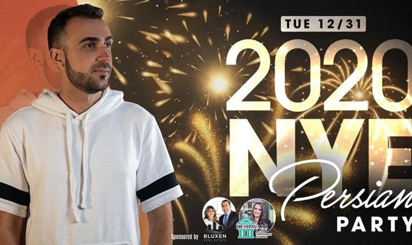 San Diego NYE 2020 Persian Party