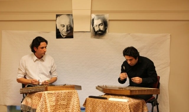 Duo Santoor with Poolad Torkmanrad & Roozbeh Motia