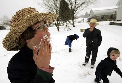 خوردن برف چه بلایی سرتان میآورد!