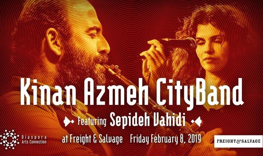 Kinan Azmeh CityBand featuring Sepideh Vahidi