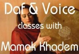 Mamak Khadem: Daf & Vocal Training
