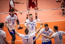 روسیه قهرمان لیگ ملتهای والیبال ۲۰۱۹ در شیکاگو شد