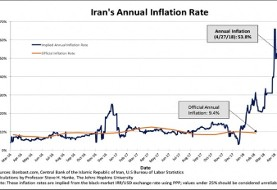 Iran's currency plunges as economic misery index soars, says Johns Hopkins economist