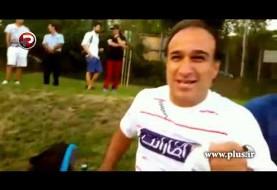 ویدئوی حرفهای صادقانه و جذاب خداداد عزیزی در اتوبوس ستارگان: ما فوتبالیستها خداییش بیسوادیم!