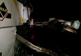 برخورد تریلی با اتوبوس زائران عراقی در سمنان ۲۳ کشته و مصدوم به جا گذاشت
