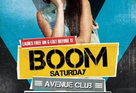 Boom Saturday with DJ Borhan
