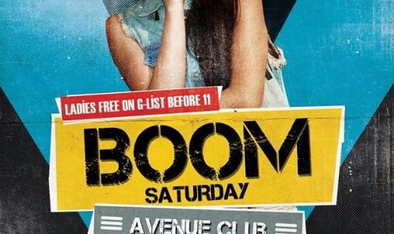 Boom Saturday with DJ Borhan