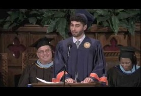 Iranian American student makes audience laugh, think (Video)