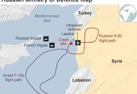 روسیه: سقوط هواپیمای روس با ۱۴ سرنشین تاثیری بر توافق پوتین- اردوغان بر ادلب ندارد؛ اسرائیل مقصر بود چون از هواپیمای روس به عنوان سپر استفاده کرد