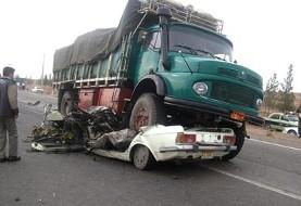 مرگ و جراحت روزانه ۱۰۰۰ نفر در جاده های ایران