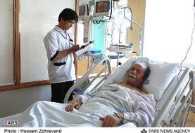 محمدعلی کشاورز به دلیل عارضه کلیوی در بیمارستان بستری است