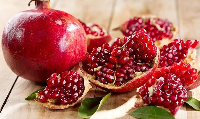 Fresh Pomegranate Sale to Benefit Dollar a Month Fund