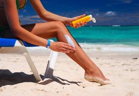 عوارض کرمهای ضد آفتاب برای بدن