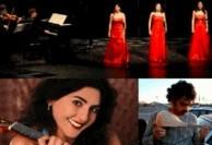 کنسرت سه سوپرانوی ایرانی و لیلی افشار، تهرانوسوروس و فارد شفیع نوری