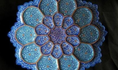 Antiques and History: Persian Enamels
