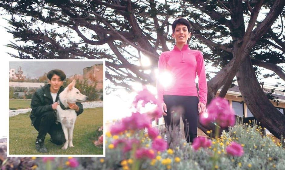 خانم دونده ماراتن امسال کالیفرنیا در تهران لباس پسرانه میپوشید