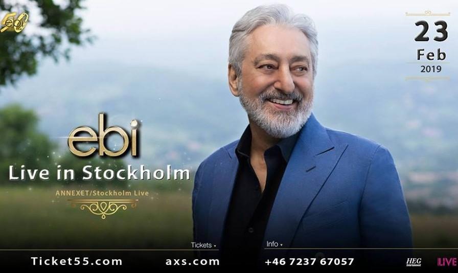 Ebi Live in Stockholm