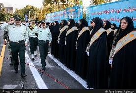 بکارگیری پلیس زن در حاشیه شهرآورد تهران