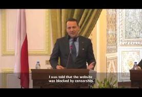 گلایه وزیر خارجه لهستان به ظریف در ایران، ویدئویی که در ایران ترجمه نشد!