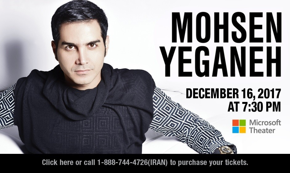 Mohsen Yeganeh, Live in Los Angeles