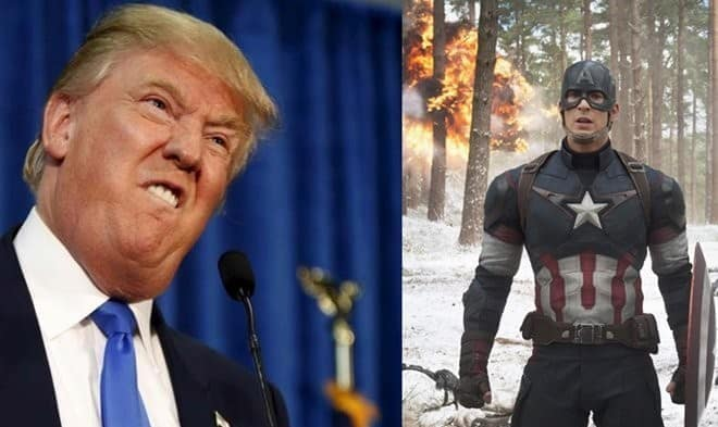 Interesting Reactions to Trump's Victory: Captain America and ...