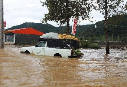سیل و طوفان در ۹ استان کشور: یک کشته و ۳ مفقودی در سیل شاهرود، آسیب دیدن ۶۲ خانوار در گلستان