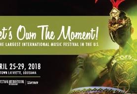 Festival International de Louisiane with ۲ Performances with NIYAZ