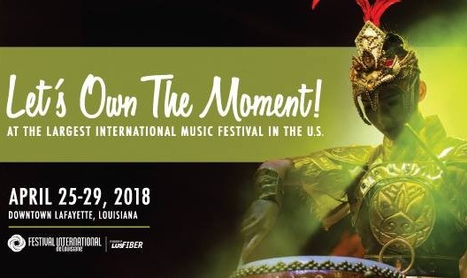 Festival International de Louisiane with 2 Performances with NIYAZ
