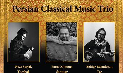 Persian Classical Music Trio