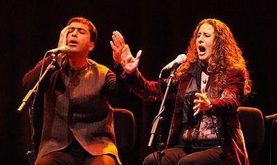 Rosario La Tremendita & Mohammad Motamedi at the Festival Glatt und Verkehrt