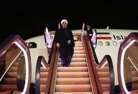 نخستین پله برقی هواپیما در ایران در بازگشت روحانی از سوچی روسیه رونمایی شد + عکس