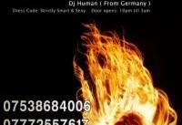 DJ Human in Chaharshanbeh Soori (Persian Festival of Fire)