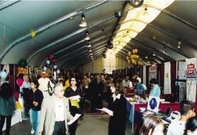 بازار و نمایشگاه محصولات و خدمات همزمان با جشنواره