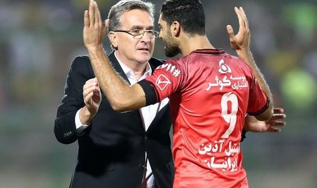 حسینی: کسی پاسخگوی محرومیت بازیکنان مان نیست! روزهای سخت پرسپولیس شروع شده است