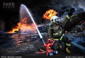 آتش سوزی در مجتمع ۳۰ واحدی در اختیاریه: نجات جان ۲۰ نفر از ساکنان