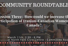 Roundtable: Increasing Participation of Iranian-Canadian Women