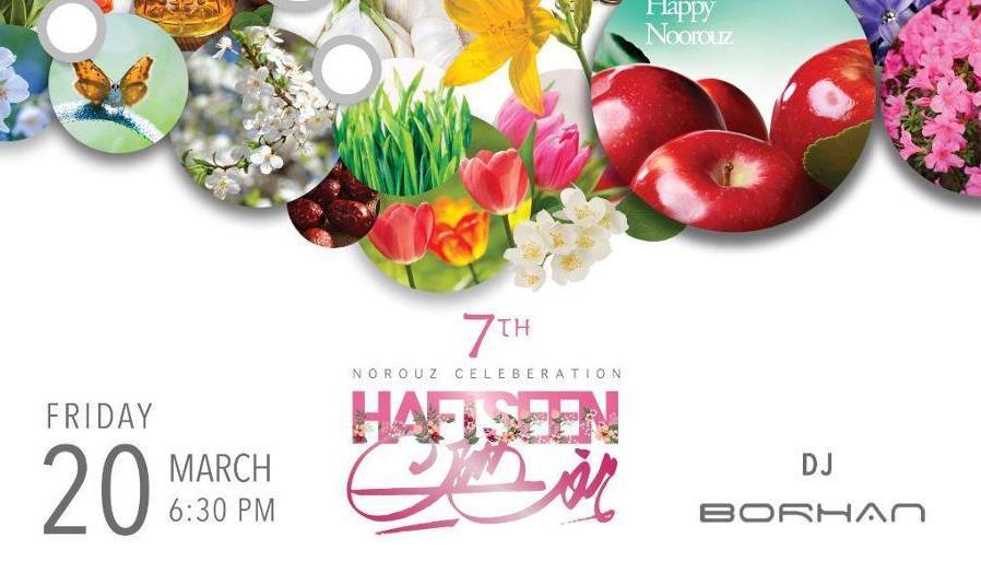Canceled? Haftseen Norouz Celebration 1399 with DJ Borhan and MC Sean