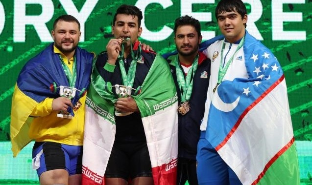 درخشش وزنه برداران ایرانی: تاکنون ۸ مدال و مقام سوم جهان