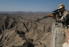 جان باختن یک مرزبان در درگیری با افراد مسلح در مرز با کردستان عراق
