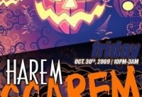 Harem Scarem Halloween Party