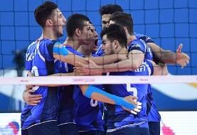 کره جنوبی هم مغلوب ایران شد: صدرنشینی والیبالیستهای جوان ایران در قهرمانی آسیا