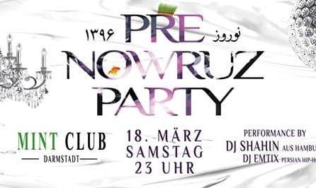 Persische Neujahrsfest: Nowruz 2017 Party