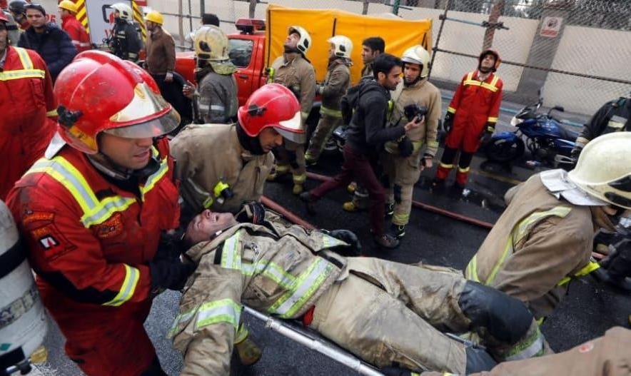 آتشنشانان جانباخته در حادثه پلاسکو هنوز شهید محسوب نشدند