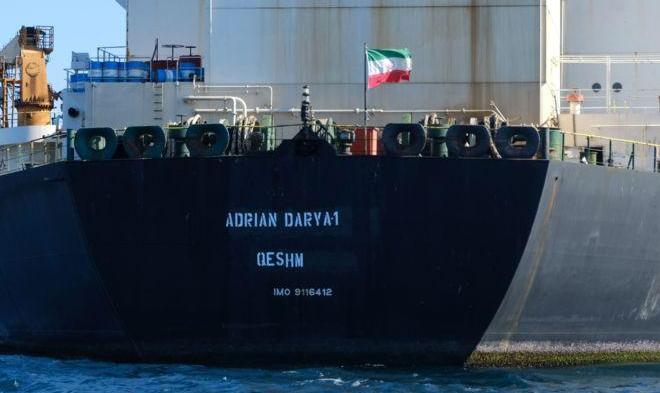 ابرنفتکش ایران دو روز پس از ترک جبل الطارق کجاست؟