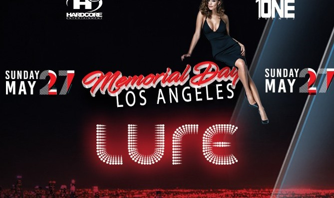 Memorial Day Weekend Party at Lure in Hollywood, Los Angeles