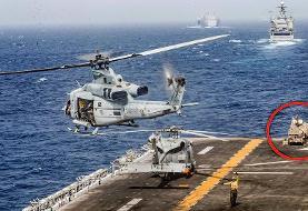 ژنرال آمریکایی: ممکن است دو پهپاد ایرانی را سرنگون کرده باشیم!