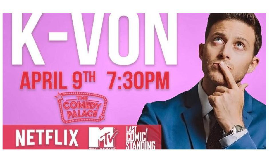 FREE Ticket OFFER for K-von, The Most Famous Half-Persian Comedian - Ages 13+