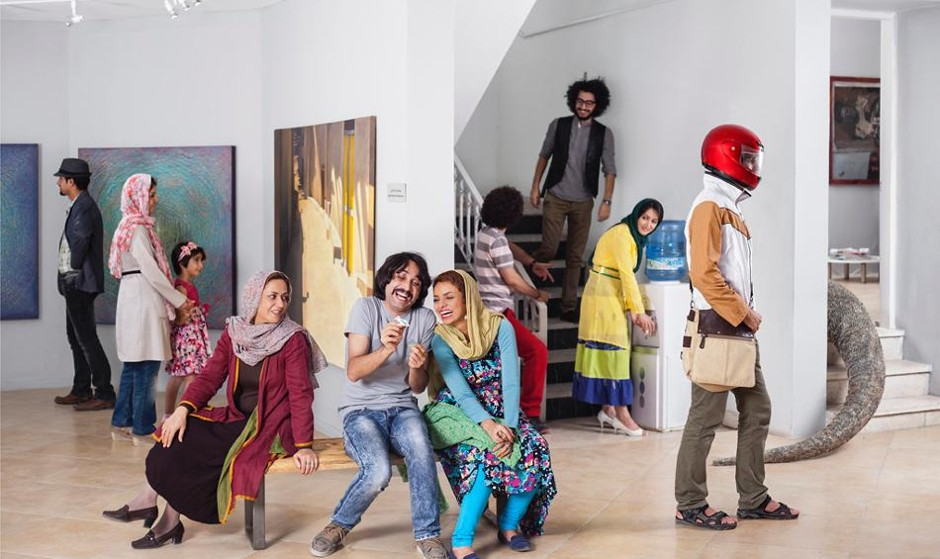Gohar Dashti: Photographs from Two series
